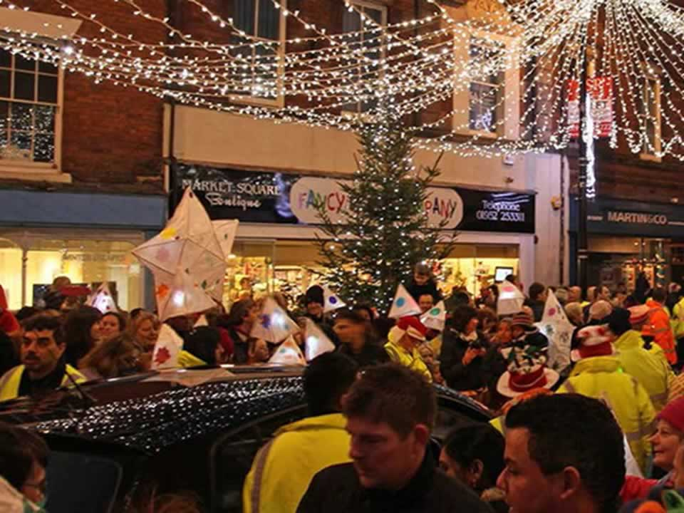 Picture for Christmas Lights Switch-on