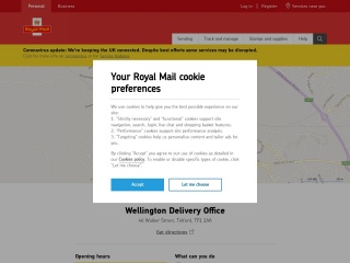 https://www.royalmail.com/services-near-you/delivery-office/wellington-delivery-office-tf1-1aa